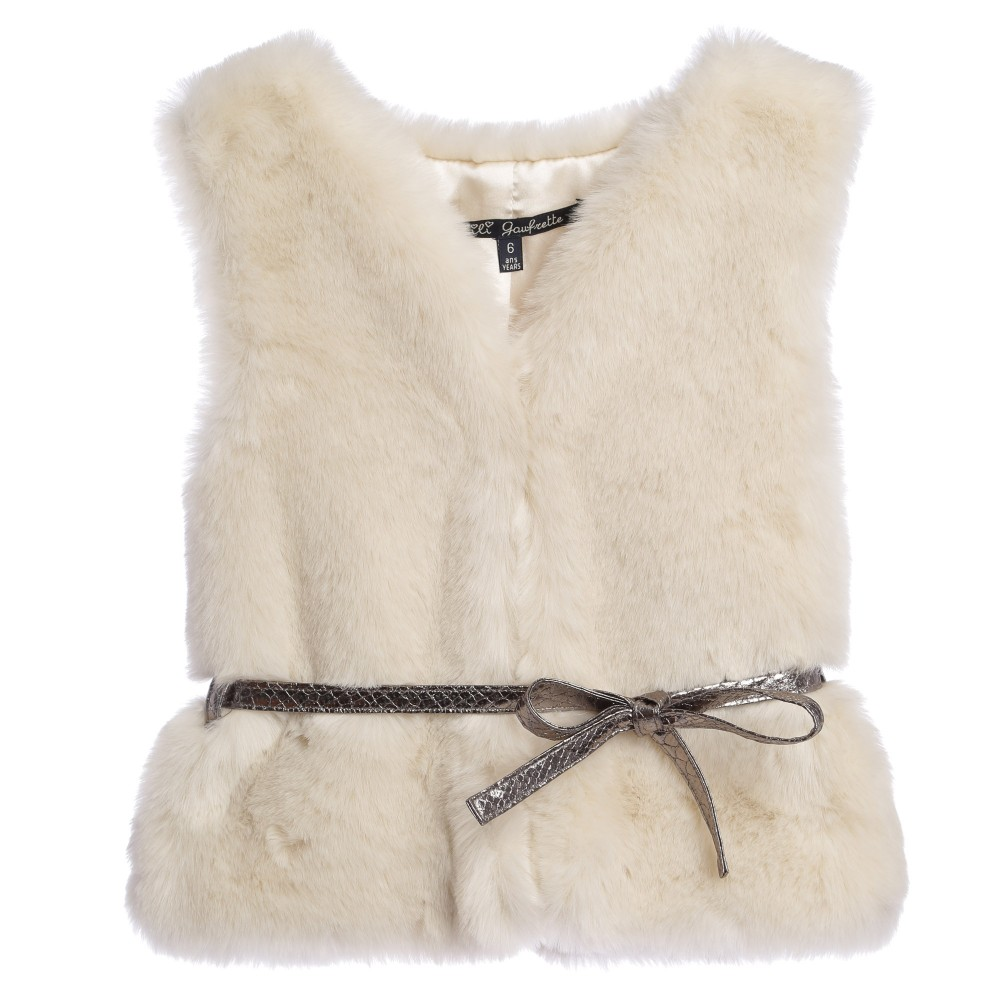 lili-gaufrette-girls-ivory-synthetic-fur-sleeveless-jacket-103883-105d8df735370bc12e0da53de607d9a55484f7cf