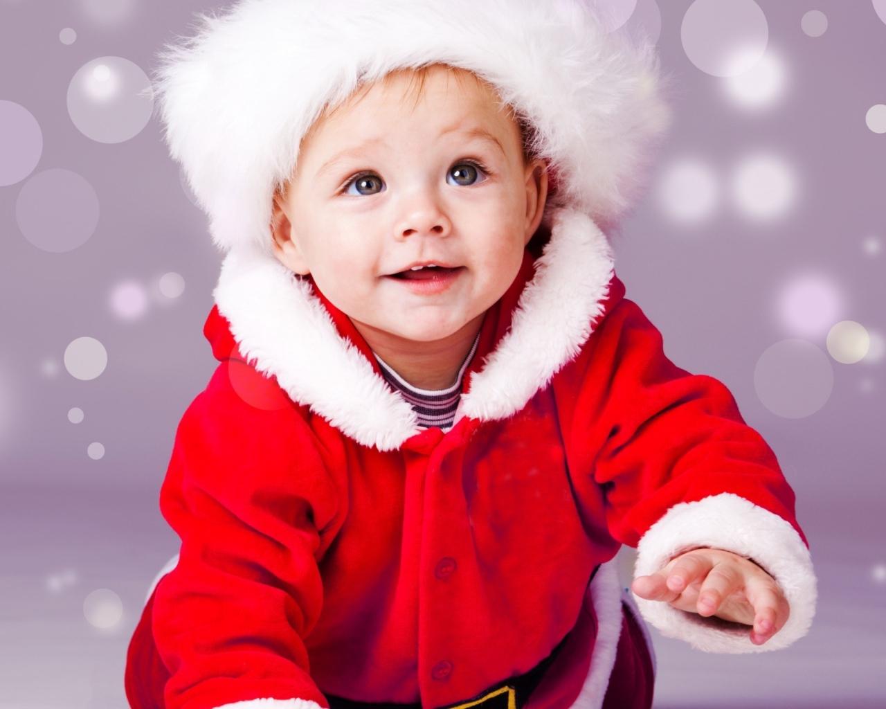 child_face_hat_smile_snow_93213_1280x1024