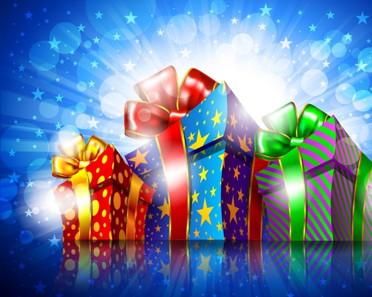 presents_three_packings_bow-knot_stars_light_65004_1280x1024