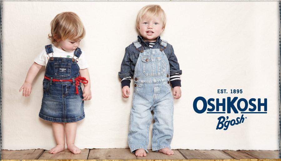 オシュコシュ(OSHKOSH)キッズの魅力はここ。オーバーオールのご紹介