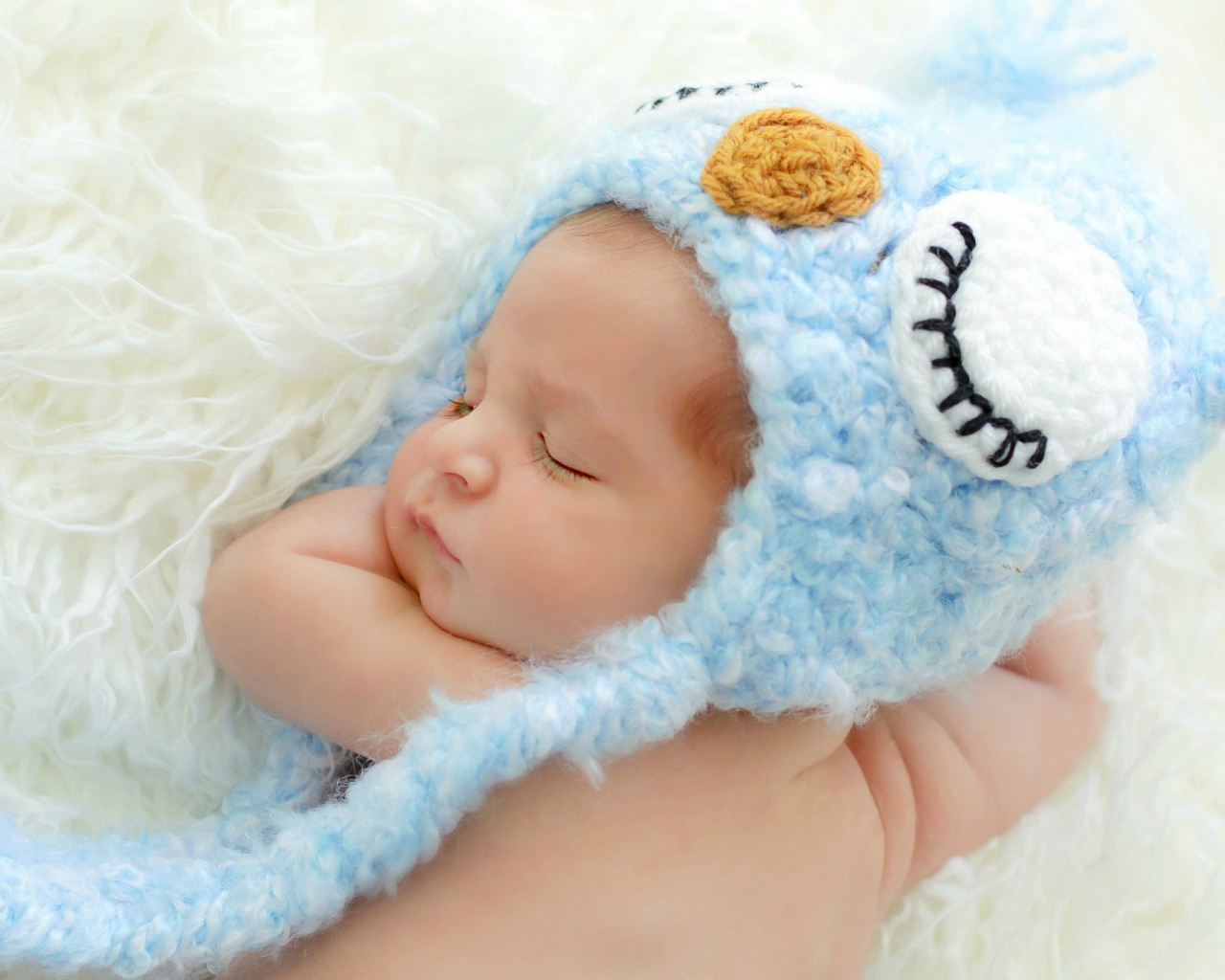 baby_sleep_shower_cap_blue_owl_80633_1280x1024