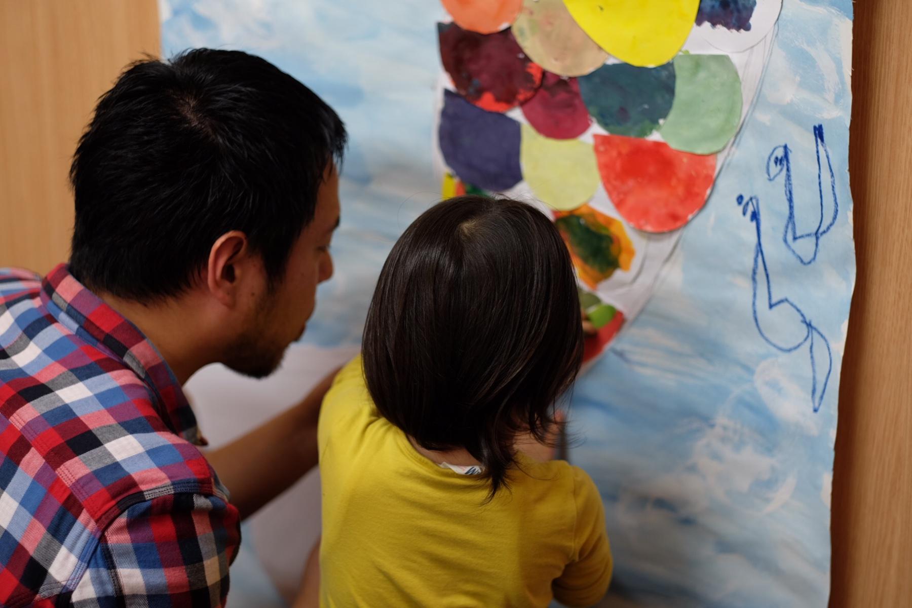 大阪北区 南森町 扇町 幼児子供 絵画教室【モネットスクール】子供たちへの効果と技法について