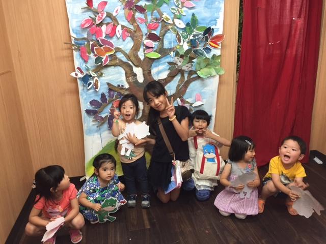 5/21絵画教室風景【大阪 南森町 こども幼児  絵画教室 モネットスクール】
