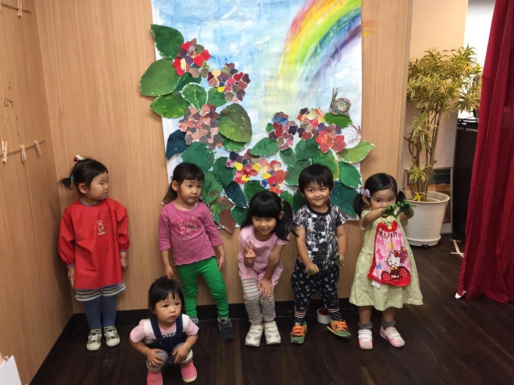 6/4絵画教室・無料体験風景/7月スケジュール決定しました!大阪 南森町 こども絵画 WEB・デザイン教室