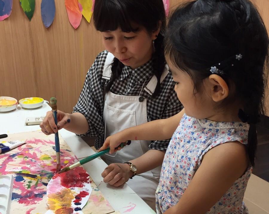 手ぶらでお絵かき教室 大阪南森町モネットスクールの料金は2時間2000円で