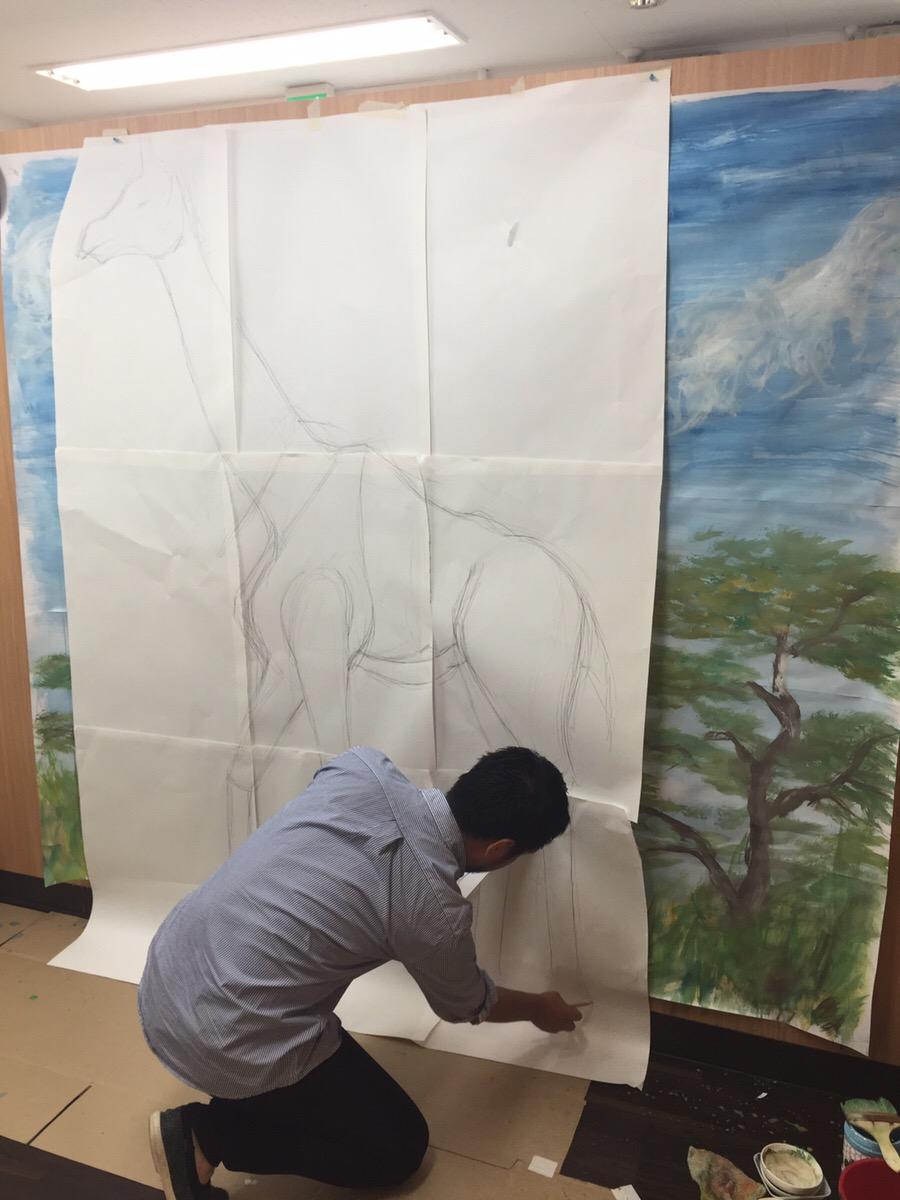 モネット絵画教室過去最高の傑作の予感。空き2名ほど御座います