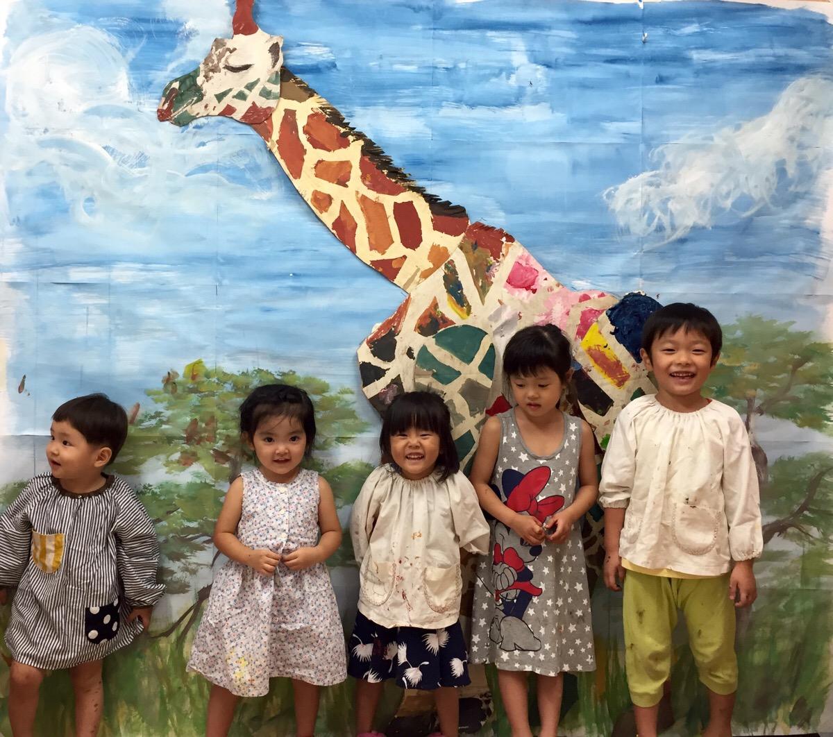 2才から始めるお絵かき教室の無料体験!モネットスクール大阪南森町