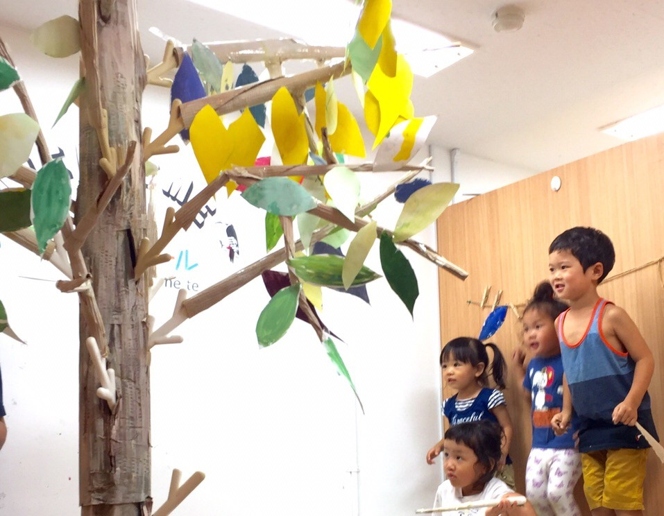 大阪 南森天満地域の習い事 幼児・こども 絵画お絵かき教室の開催風景