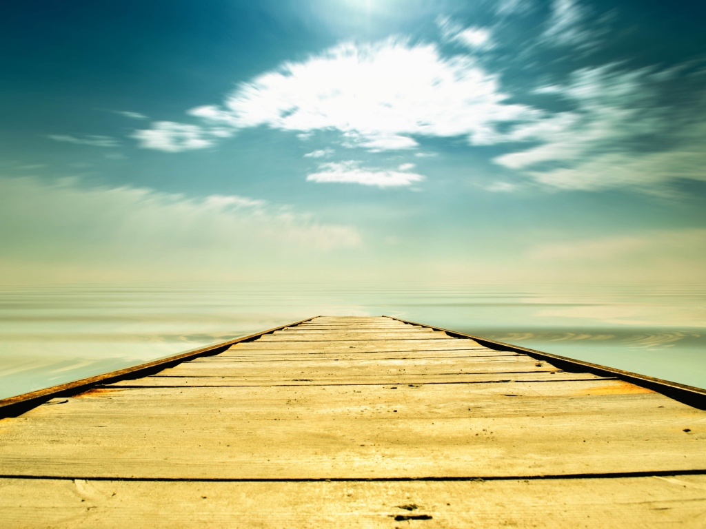 path_sky_pier_boards_way_choice_straight_line_50199_1024x768