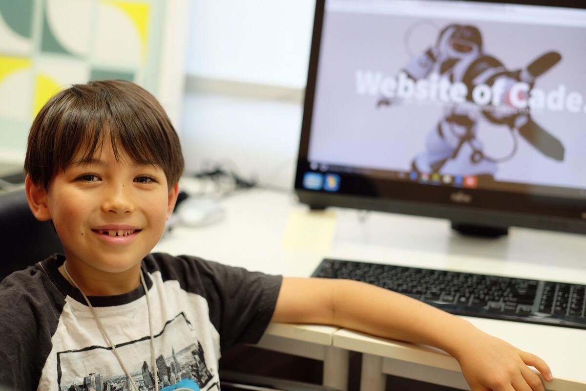 大阪北区のこども絵画・WEB &デザイン教室モネットスクールでホームページをつくりました!