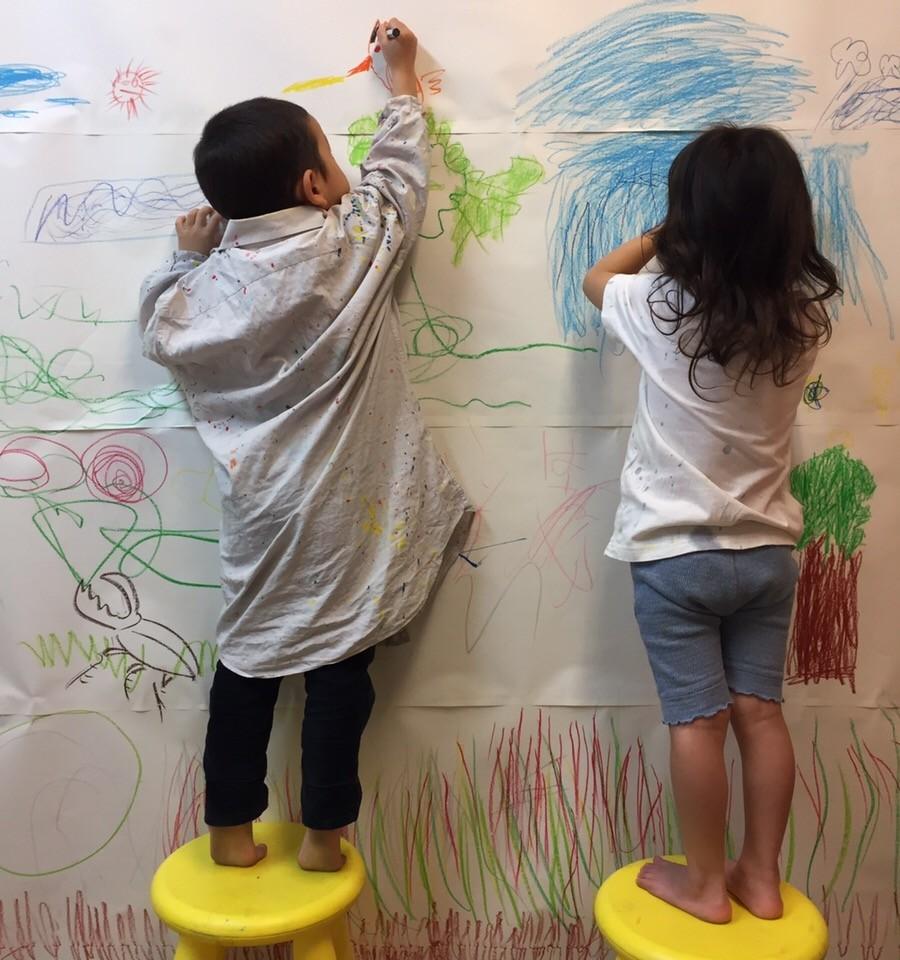 お絵かきワークショップクラス無料体験会テーマは「動物園」/大阪北区のモネットスクール