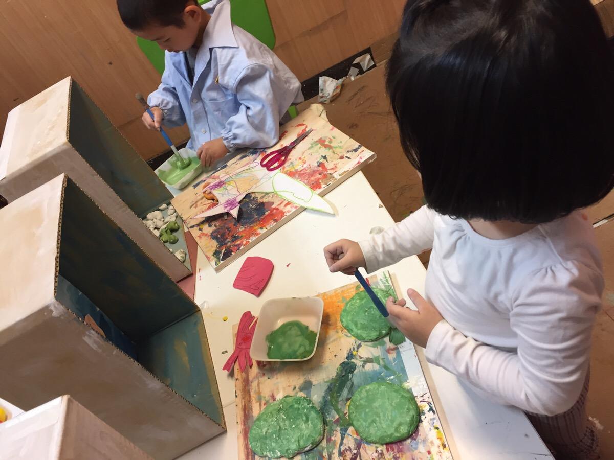 大阪の幼児子ども英会話&アート教室【モネットスクール】
