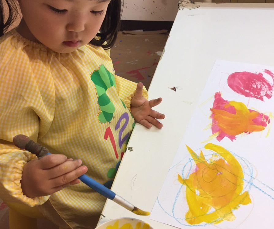 「モナリザを描こう!」/モネットスクール大阪