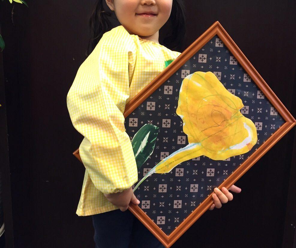 モノグラムとアートの融合!【モネットスクール大阪/子ども幼児のお絵かき・英会話・プログラミング】