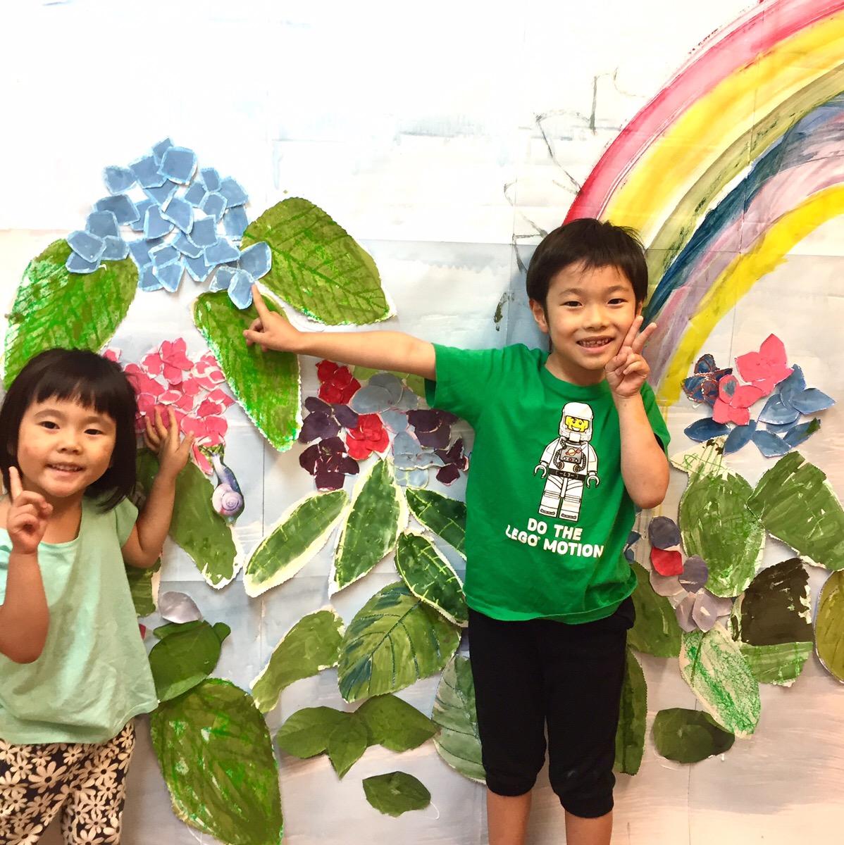 7月カリキュラム確定しました!/ 幼児子どものアート・英語教育【モネットスクール 大阪】