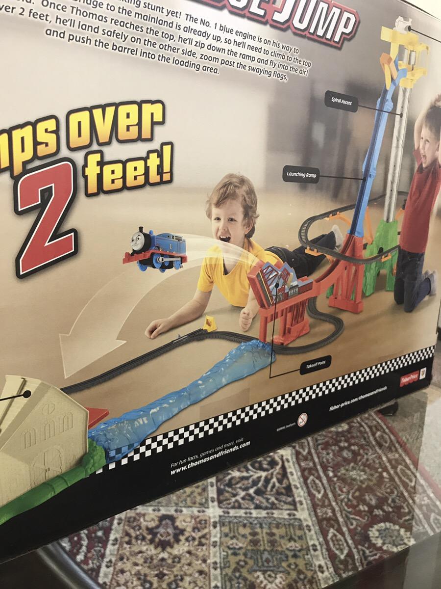 トーマスのおもちゃ家庭内最大級をメイキーズで