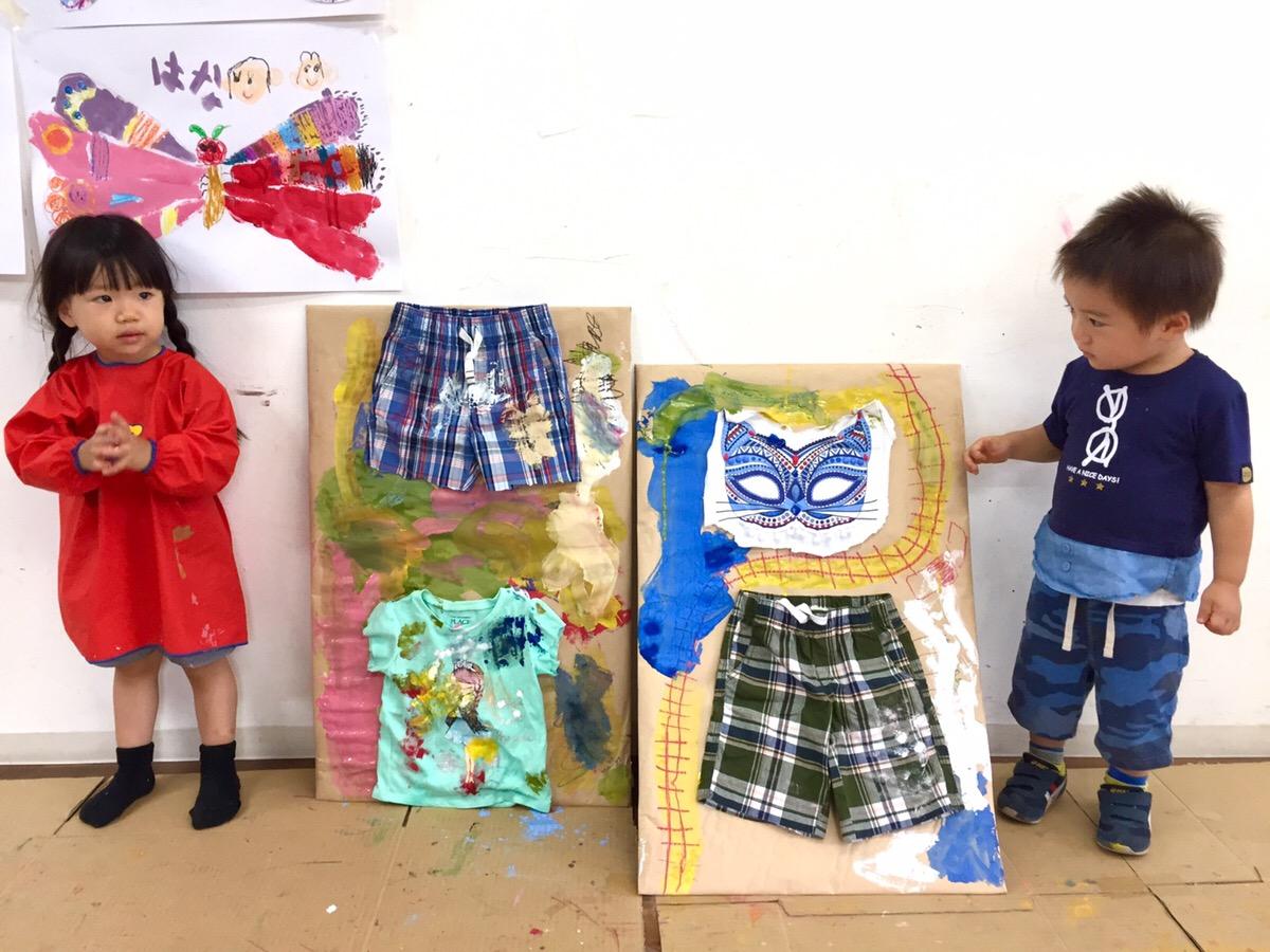 【子供服×アート】特大コラージュに挑戦!アート・英会話・プログラミング【モネスクin大阪】