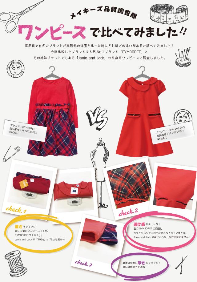 ベビー服や子供服の品質を知る方法