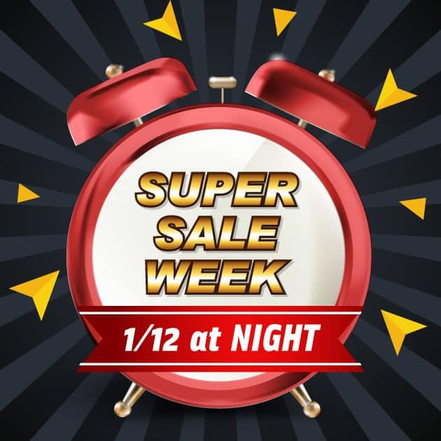 メイキーズの2018年1回目のSUPER SALE WEEK(1/12@night~)