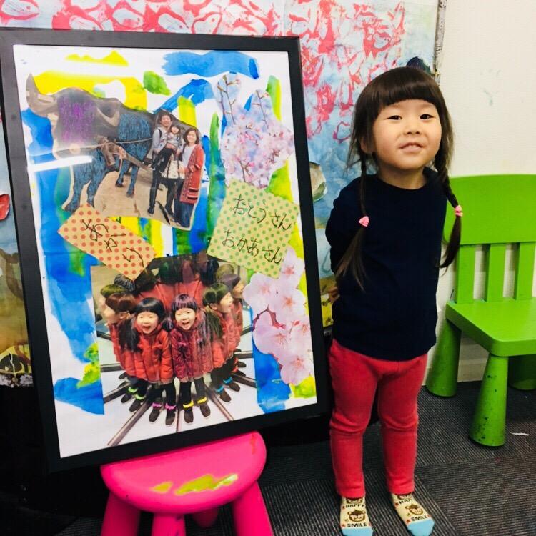 進級卒園のお祝いに!子供たちの成長を大きなアート作品に!