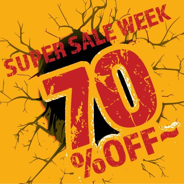 メイキーズ【SUPER SALE WEEK】開催中!ジンボリー4年に1度の大セール!