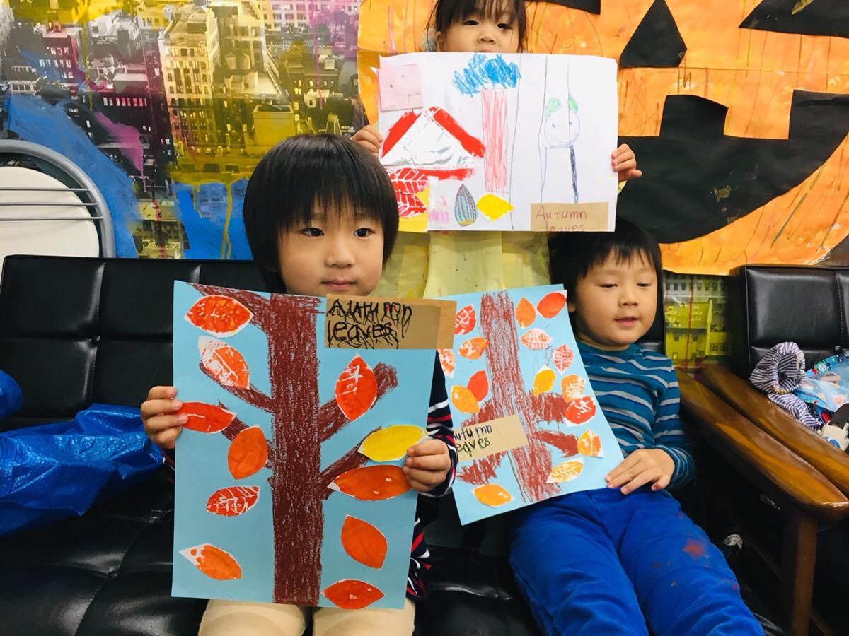 日本文化と英語の融合アート!『キッズイングリッシュアート』