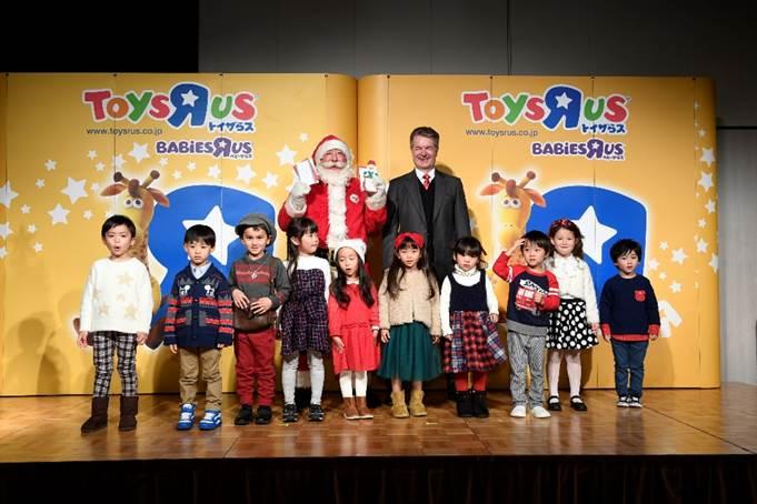 一人でも多くの子ども達に楽しいクリスマスを。トイザらスとサンタクロース協会オフィシャルパートナー契約を締結