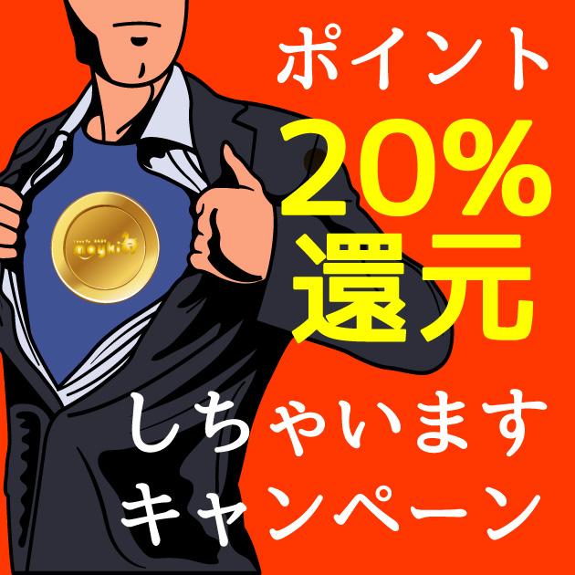 『20%還元』あの話題の20%還元をやっちゃいます