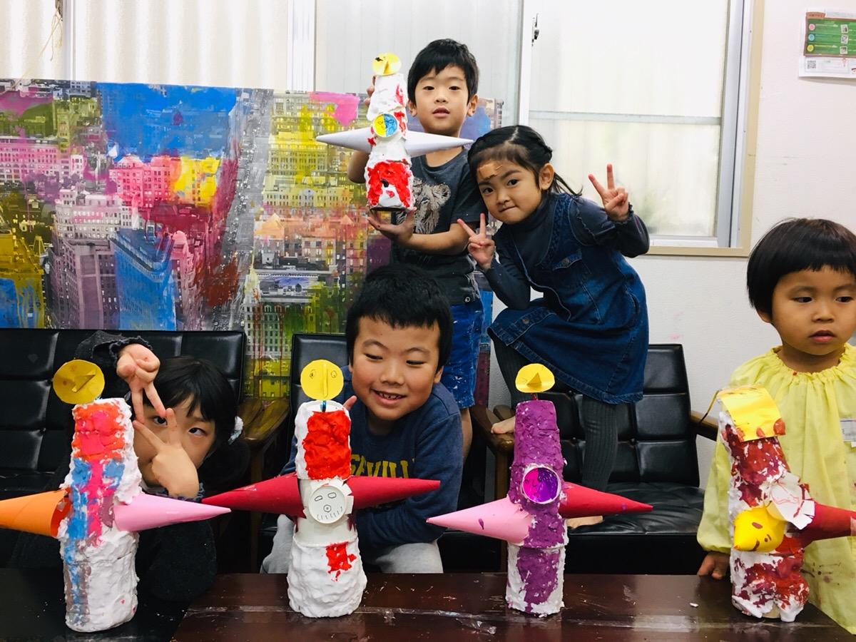 子供たちがつくる太陽の塔フィギュア!2025年大阪万博決定記念