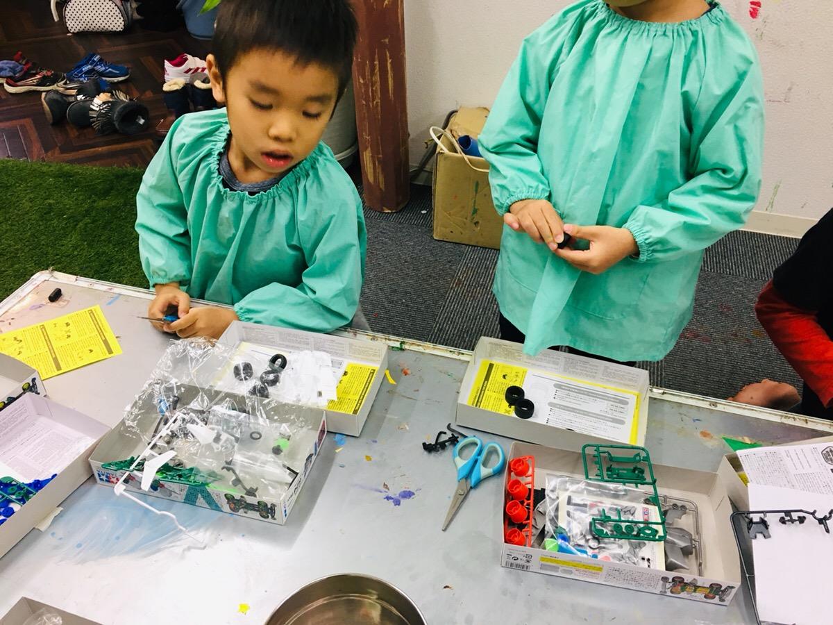 「平成最後のミニ四駆づくり!」モーターを使った科学工作 駆動の仕組み
