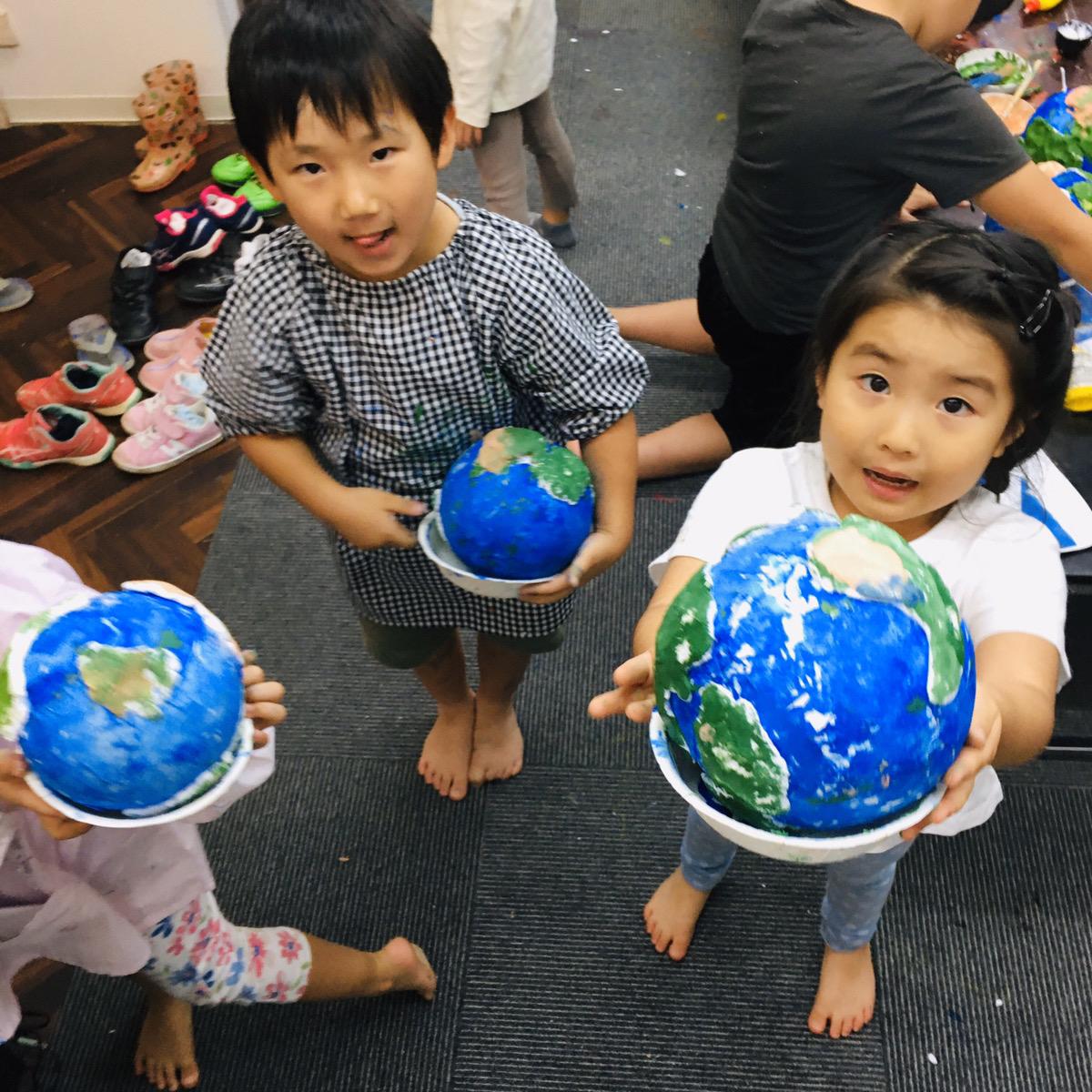 【地球をつくる!】紙粘土や和紙を使った手作り地球儀